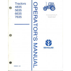 New Holland 6635 Tractor Operator's Manual (42483541)