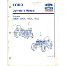 New Holland 6610S Tractor Operator's Manual (42561040)