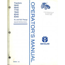 New Holland 6640 Tractor Operator's Manual (42564061)
