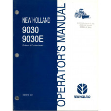 New Holland 9030 Tractor Operator's Manual (42903013)