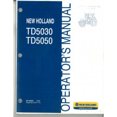 New Holland TD5050 Tractor Operator's Manual (84145269)
