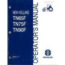 New Holland TN65F Tractor Operator's Manual (86561625)