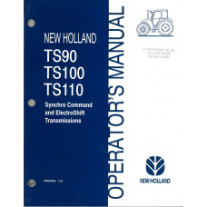 New Holland TS90 Tractor Operator's Manual (86562959)