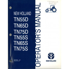 New Holland TN65D Tractor Operator's Manual (86572984)