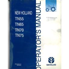 New Holland TN55 Tractor Operator's Manual (86584836)