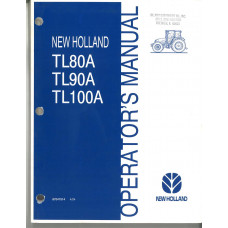 New Holland TL100A Tractor Operator's Manual (87047514)