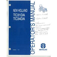 New Holland TC34DA Tractor Operator's Manual (87346272)