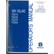 New Holland TG215 Tractor Operator's Manual (87393894)