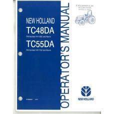 New Holland TC48DA Tractor Operator's Manual (87399421)