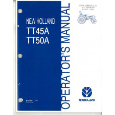 New Holland TT45A Tractor Operator's Manual (87515002)