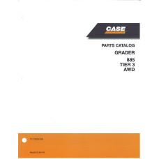 Case 885 Grader Parts Manual (71114050NA)