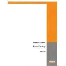 Case 550G Crawler Parts Manual (7-1223)