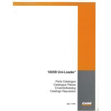 Case 1825B Uniloader Parts Manual (7-1781)