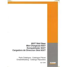 Case 85XT Skid Steer Parts Manual (72472)