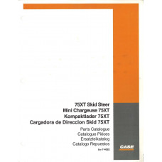 Case 75XT Skid Steer Parts Manual (7-4092)