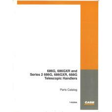 Case 686G Telescopic Handler Parts Manual (7-4332NA)