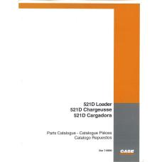 Case 521D Wheel Loader Parts Manual (7-6900)