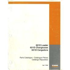 Case 621D Wheel Loader Parts Manual (7-7290)