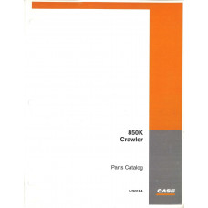 Case 850K Crawler Dozer Parts Manual (7-7631NA)