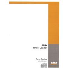 Case 521D Wheel Loader Parts Manual (7-8563NA)