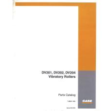 Case DV201 Vibratory Roller Parts Manual (7-8641NA)