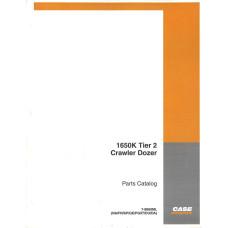Case 1650K Crawler Dozer Parts Manual (7-8860ML)