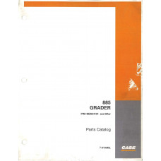 Case 885 Grader Parts Manual (7-9190ML)