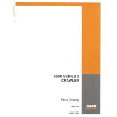 Case 650K Crawler Dozer Parts Manual (7-9651NA)