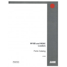 Case W20C Wheel Loader Parts Manual (8-1612)