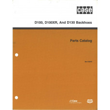 Case D130 Backhoe Parts Manual (8-6210)