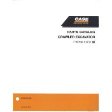 Case CX700 Excavator Parts Manual (87364133NA)