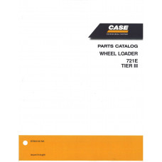 Case 721E Wheel Loader Parts Manual (87364140NA)