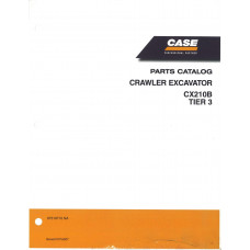 Case CX210B Excavator Parts Manual (87519710NA)
