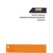 Case CX210B N Excavator Parts Manual (87519727NA)
