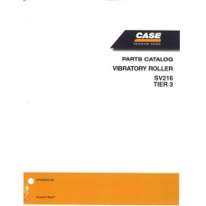 Case SV216 Vibratory Roller Parts Manual (87578848)