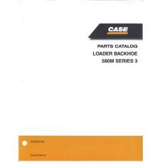 Case 580M Loader Backhoe Parts Manual (87632283)