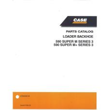 Case 590 SUPER M Tractor Loader Backhoe Parts Manual (87632285NA)