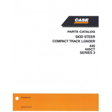 Case 445CT Skid Steer Parts Manual (87632293NA)