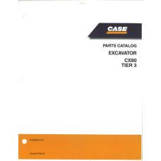 Case CX80 Excavator Parts Manual (87659347NA)