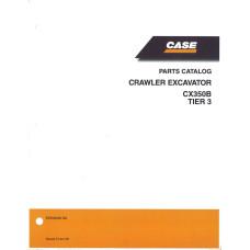 Case CX350B Crawler Excavator Parts Manual (87659348NA)