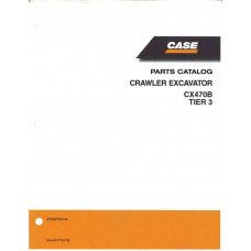 Case CX470B Excavator Parts Manual (87659764NA)
