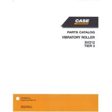 Case SV212 Vibratory Roller Parts Manual (87659886NA)