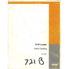 Case 721B Loader Parts Manual (8-9381)