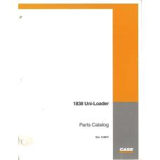 Case 1838 Uniloader Parts Manual (8-9641)