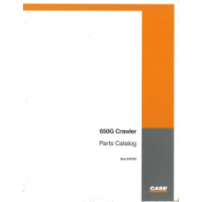 Case 650G Crawler Dozer Parts Manual (8-9703)