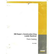 Case 580 Loader Backhoe Parts Manual (89932)