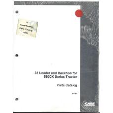Case 35 Loader Backhoe Parts Manual (H1151)