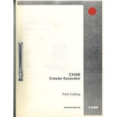 Case CX36B Excavator Parts Manual (S3PX00012ZE01NA)