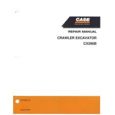 Case CX290B Crawler Excavator Service Manual (87673891NA)