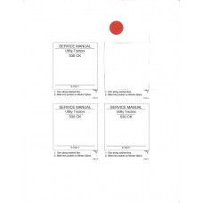 Case 23 Loader and Backhoe Attachment Service Manual (970011H)